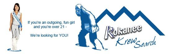 Mount Washington Alpine Resort - Kokanne Girls Model Search Banner