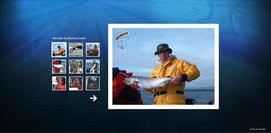 Absolute Sportfishing Flash Photo Gallery, Campbell River, BC