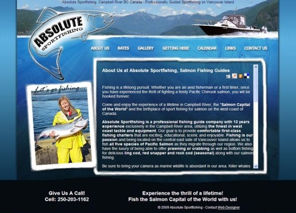 Absolute Sportfishing, Campbell River, BC, Canada