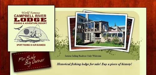 Campbell River Lodge For Sale By Owner