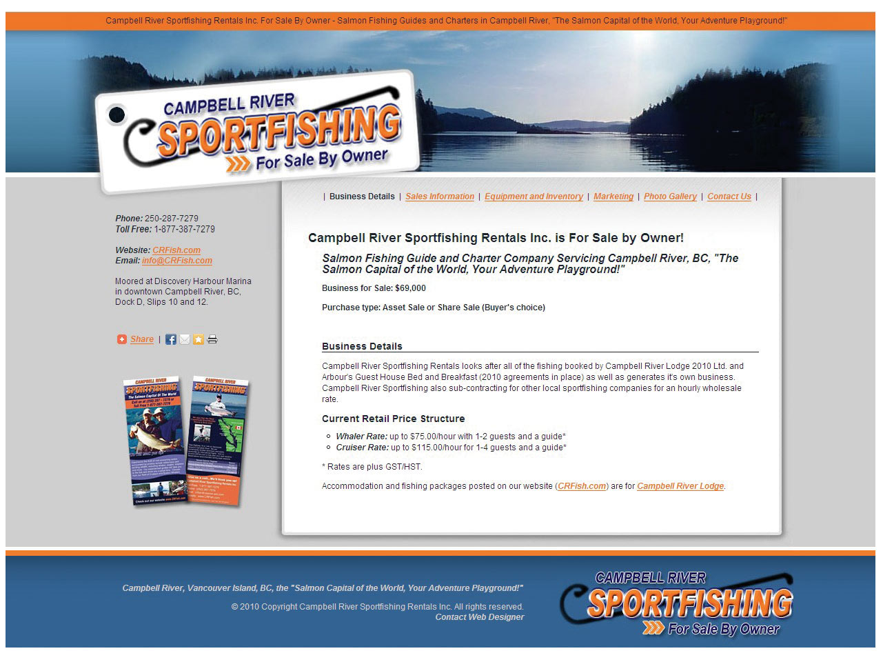 Campbell River Sportfishing For Sale By Owner