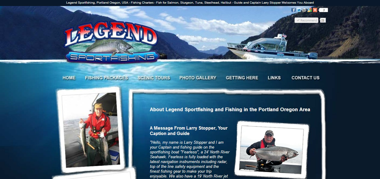 Legend Sportfishing LLC, Portland, Oregon, USA